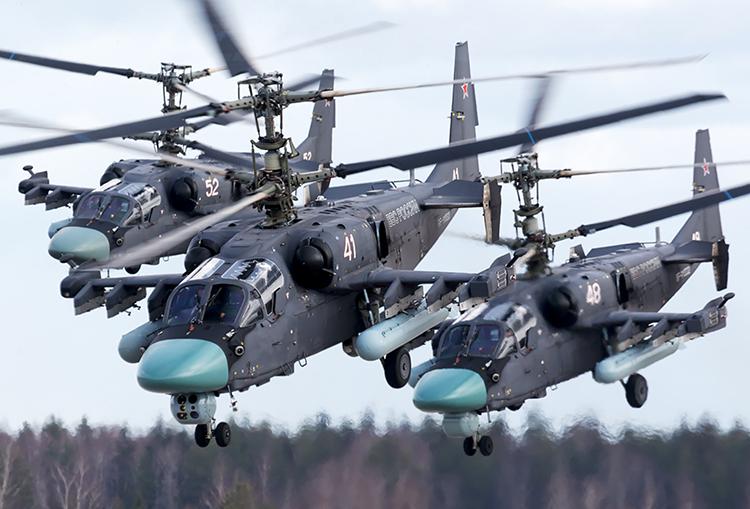 Tambah Daya Gedor, Rusia Akan Tingkatkan Sistem Senjata Ka-52 Alligator