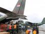 C-130 dan CN295 TNI AU Berjibaku Kirimkan Bantuan Gempa Sulteng