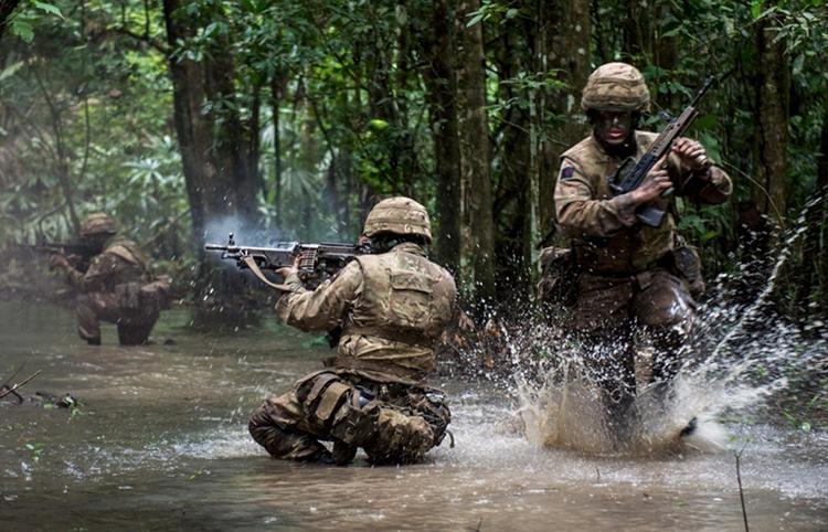 BATSUB, Pusat Latihan Pertempuran Hutan Angkatan Bersenjata Inggris