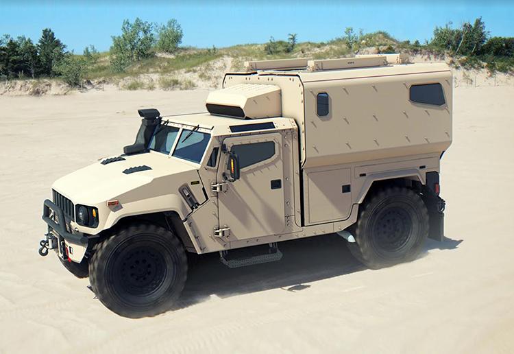 Ini Dia MPT, Tawaran AM General Sebagai Penerus Humvee