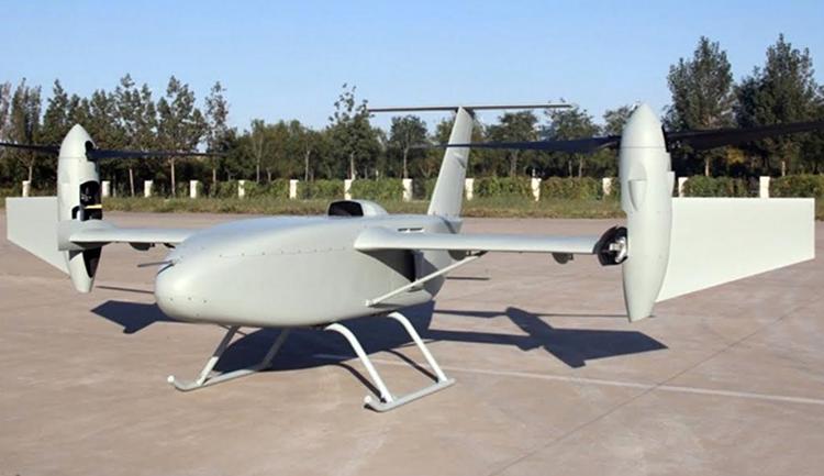 Jelang Airshow China, CASC Perkenalkan Drone Intai Baru CH-10 Tilt Rotor