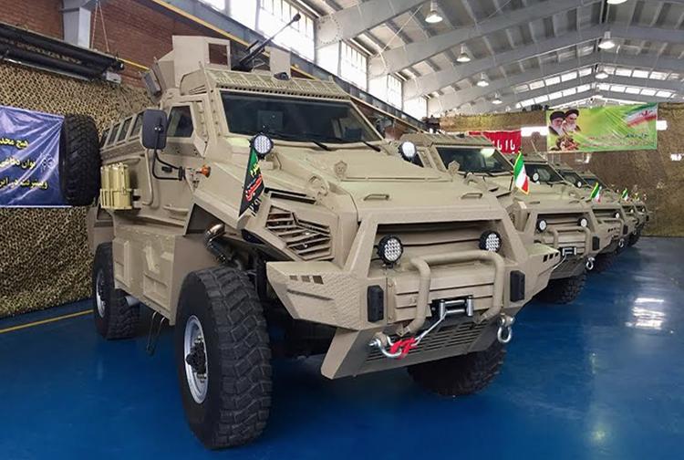 Iran Luncurkan Ranpur MRAP Toufan Buatan Dalam Negeri
