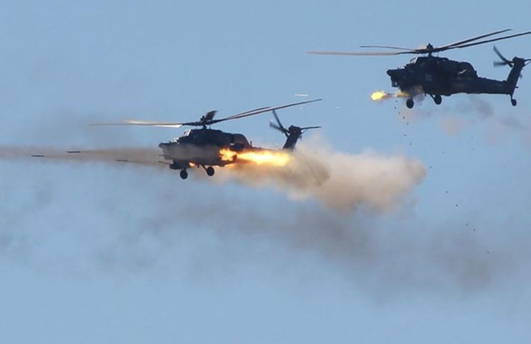 Gunakan Mi-28N, Distrik Militer Rusia Latihan Penangkapan Target Kecil