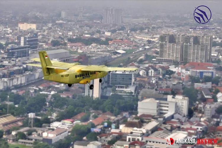 Purwarupa ke-2 N219 PK-XDP Sukses Mengudara Perdana