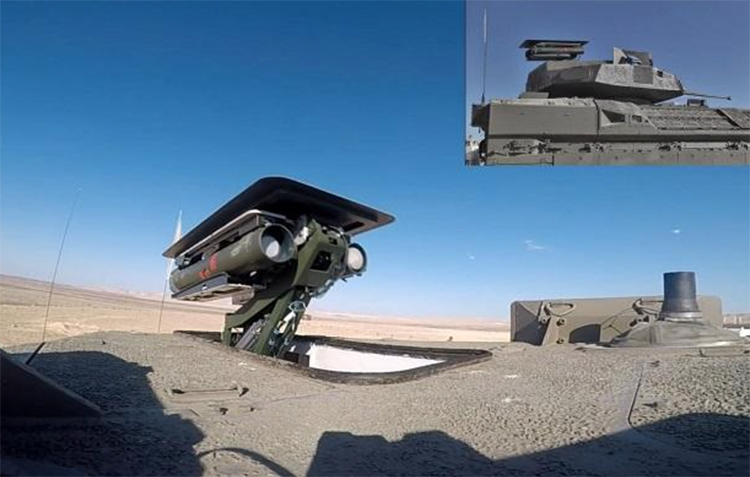 Israel Lengkapi Ranpur Eitan dan Namer dengan Senjata Antitank Mandiri
