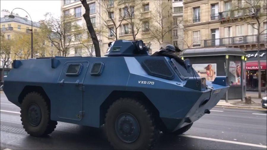Ransus Gaek Setengah Abad, VBRG/VXB 170 Andalan National GendarmeriePerancis