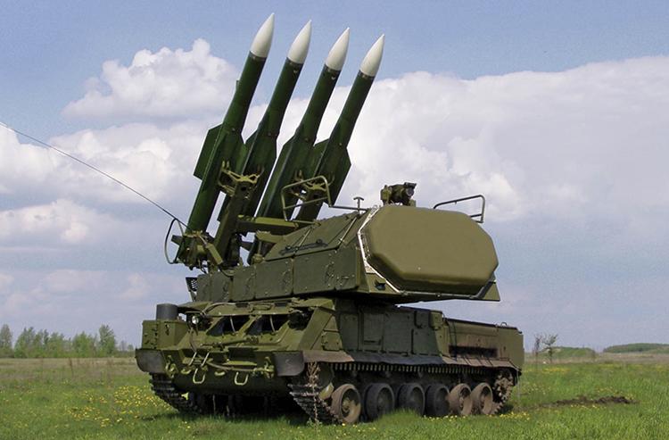 Sistem Pertahanan Udara Buk-M2 Suriah Patahkan Serangan Rudal Jet Tempur F-16 Israel