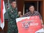 Pindad Beri Bonus 1,25 M kepada Kontingen Petembak TNI AD Juara AARM 2018