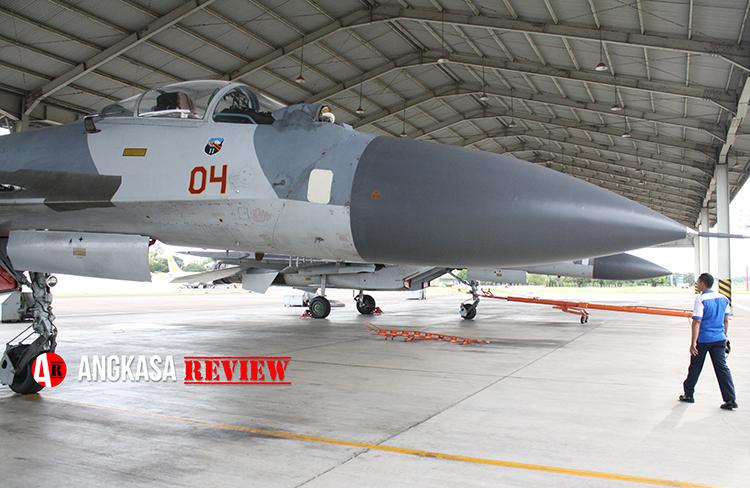 TNI AU Sudah Mampu Laksanakan Pemeliharaan Tingkat Berat Mesin Su-27/30 dan F-16