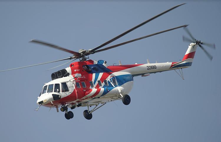 Helikopter Sipil Mi-171A2 Dapat Sertifikasi di India dan Kolombia