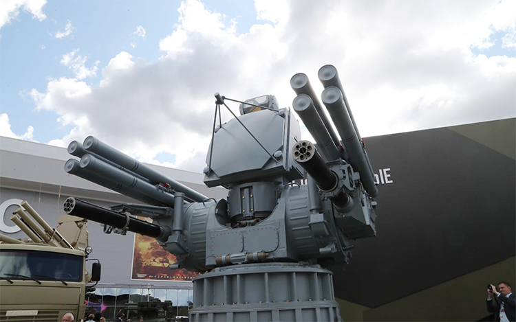 Rusia Akan Pamerkan Sishanud Terbaru Pantsir-ME Berbasis Kapal Perang di Pameran IDEX 2019