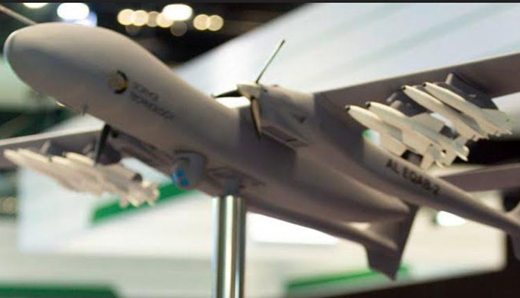 Arab Saudi Kembangkan UCAV Kelas Berat Bergelar Al Eqab-2
