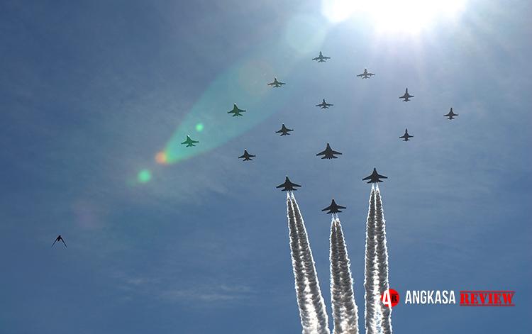Upacara HUT TNI AU Tahun Ini Sederhana, Tidak Ada Defile dan Terbang Lintas