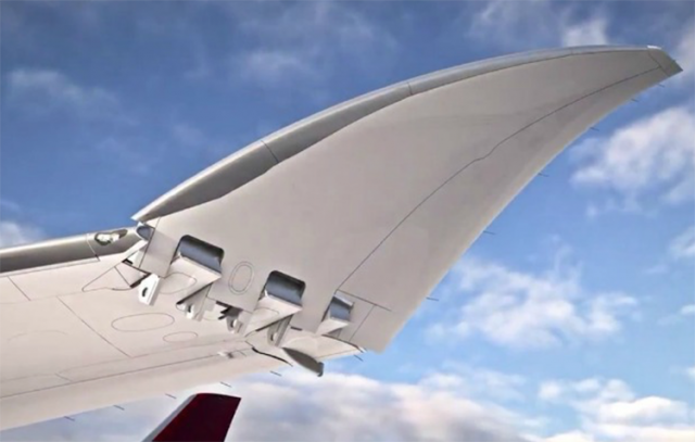Folding-wing 777-9