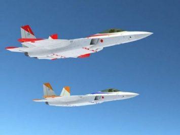 Jet siluman Jepang
