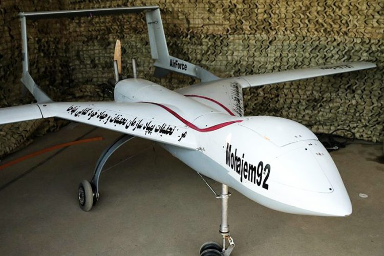 Iran Tampilkan Drone Intai Mohajem 92 di IQDEX 2019