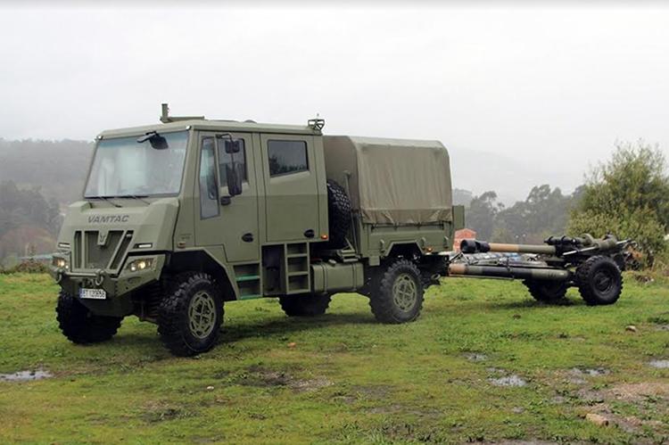 URO VAMTAC SK95, Rantis Penarik Meriam Baru Grup Artileri AD Spanyol