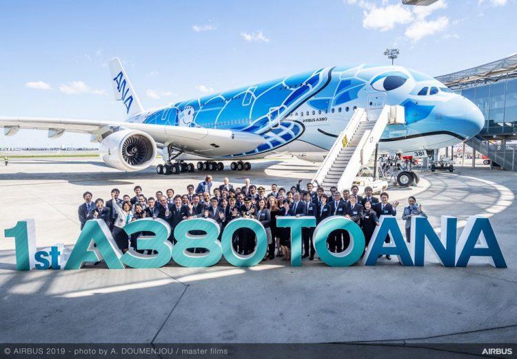 Yang Lain Lesu, ANA Justru Bergairah Terima Superjumbo A380