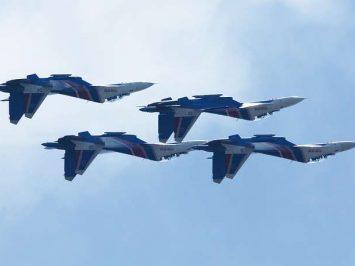 Su-30SM Russian Knights