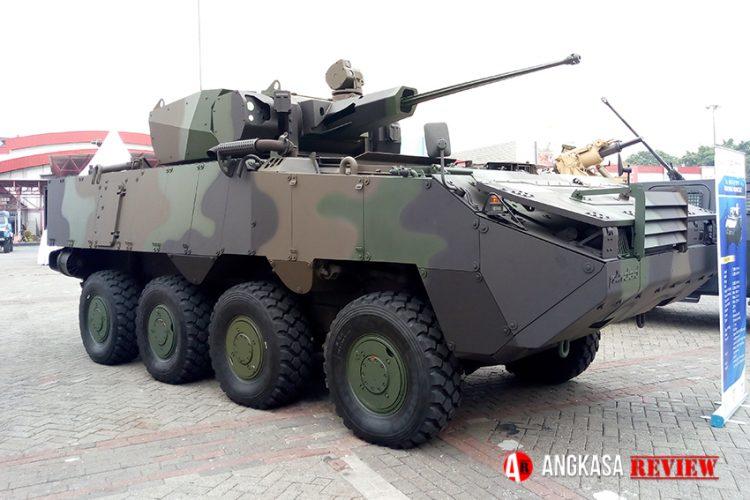 Kobra 8X8, Panser IFV Pertama Garapan Pindad untuk Batalyon Infanteri Mekanis TNI AD