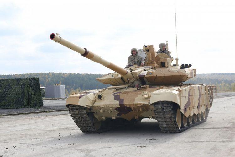 Perkuat 10 Resimen AD, India Akan Borong 464 Tank T-90MS dari Rusia