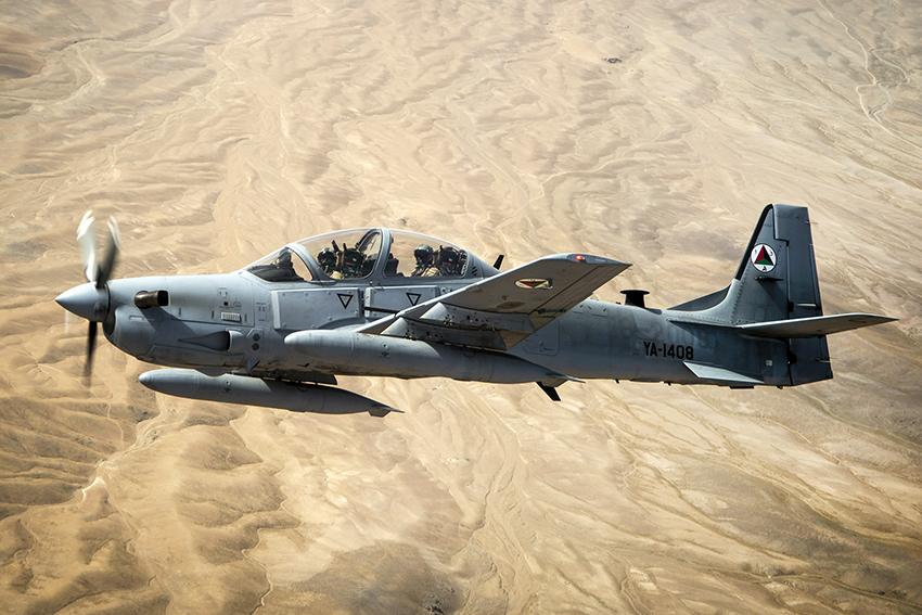 USAF beli dua pesawat serang ringan A-29 Super Tucano