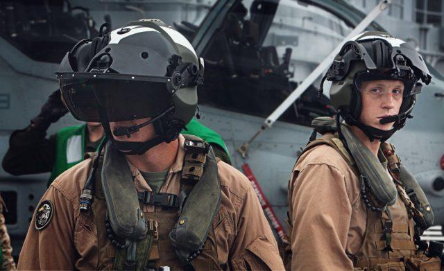 AH-1Z pilot helmets