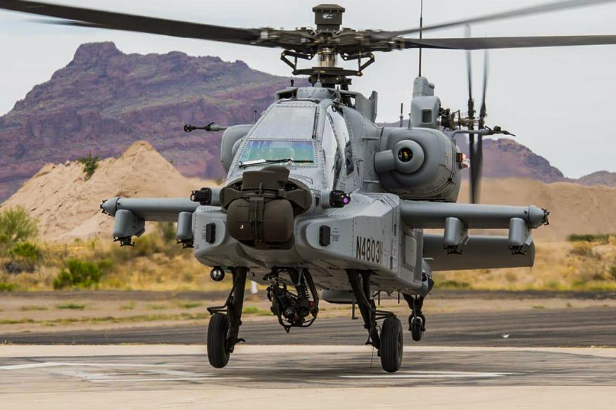 AU India Terima Heli Apache Pertama dari Boeing
