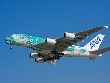 A380 Flying Honu