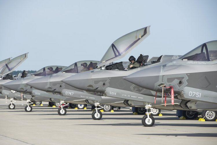 Terima Unit ke-196, Jumlah F-35A Sudah Melebihi F-22 di USAF