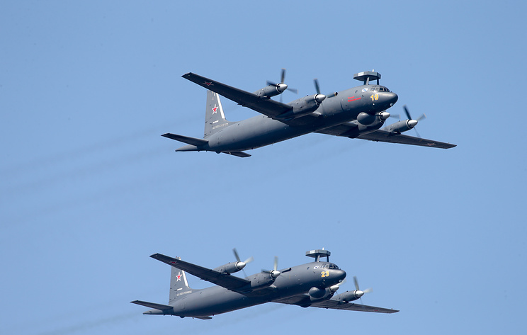 Para Penerbang Il-38 Armada Pasifik Rusia Latihan Perburuan Kapal Selam
