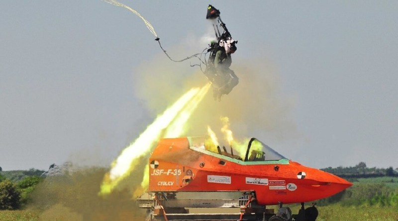 F-35 ejection seat