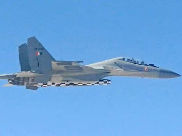 Su-30MKI with BrahMos-A