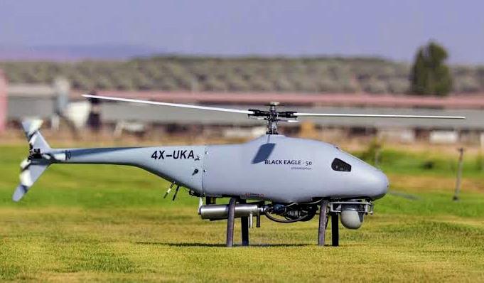 Black Eagle 50, Drone Intai Sayap Putar Andalan Steadicopter di ISDEF 2019 Israel
