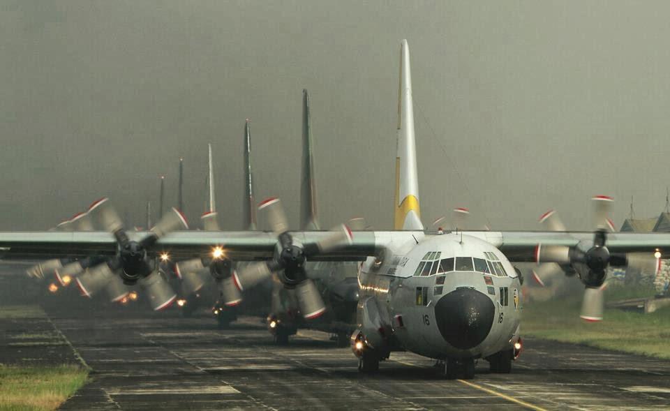 TNI AU Sudah Mampu Laksanakan Perawatan Berat Propeler Pesawat C-130 Hercules