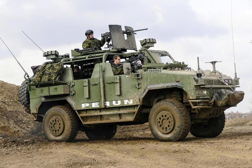 Pasukan Khusus AD Ceko Dapatkan Perun LSV Buatan SVOS