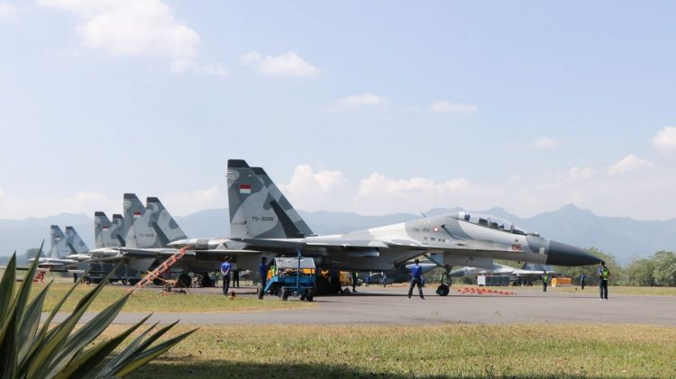 Su-30MK2 TNI AU