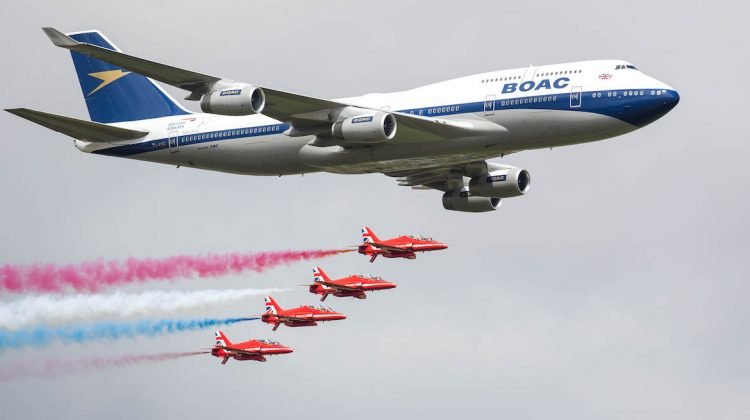747 and Red Arrows