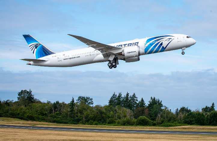 Boeing Kirimkan 787-9 Dreamliner Pesanan ke-5 EgyptAir