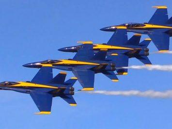 Akan pasok 11 pesawat, Boeing kirim pesawat uji Super Hornet kepada Blue Angels