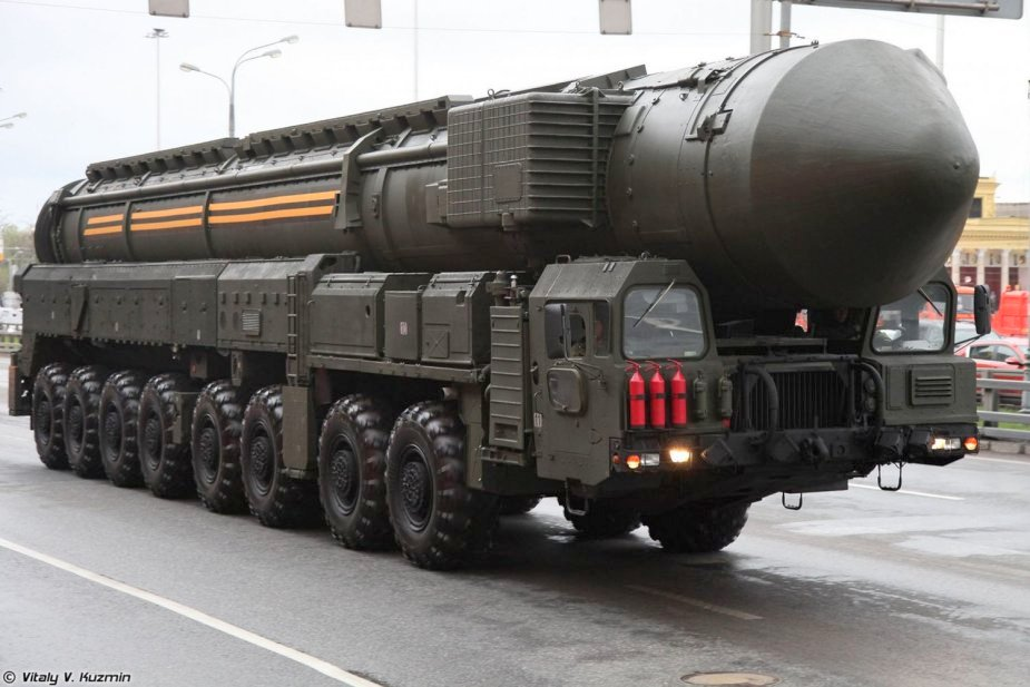 Rusia Canangkan Uji Coba Rudal Balistik Antarbenua Sarmat Selesai Tahun Depan