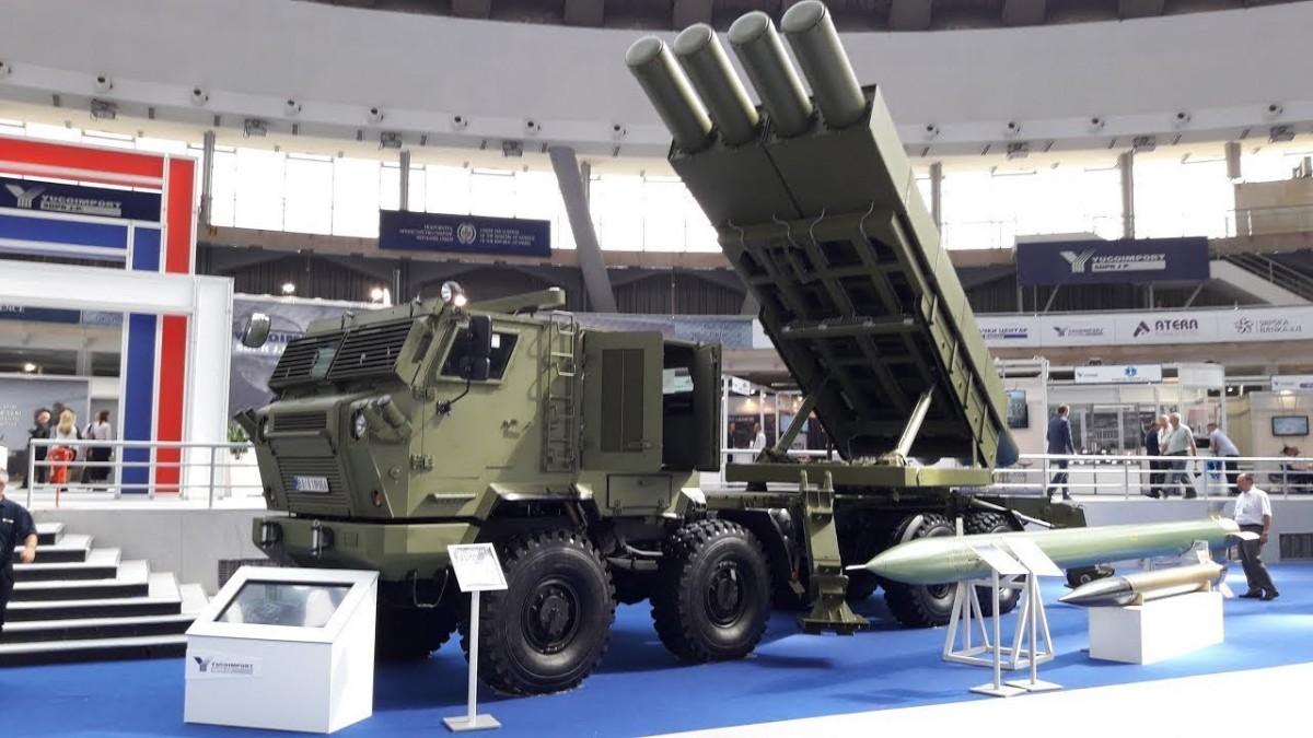 Mengenal Sistem Peluncur Roket Multilaras Tamnava dan Sumadija Buatan Serbia
