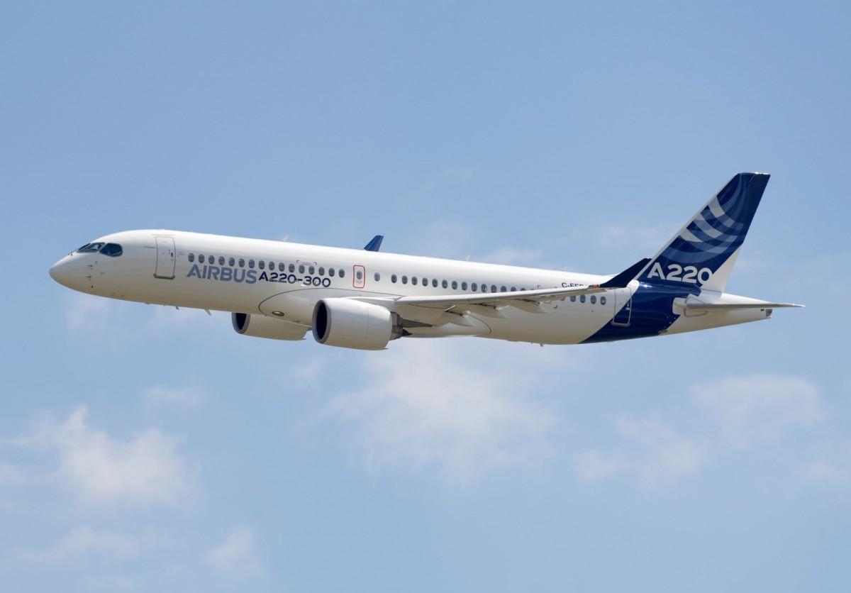 Produksi A220 di Amerika Serikat, Airbus Targetkan 50 Pesawat Per Tahun