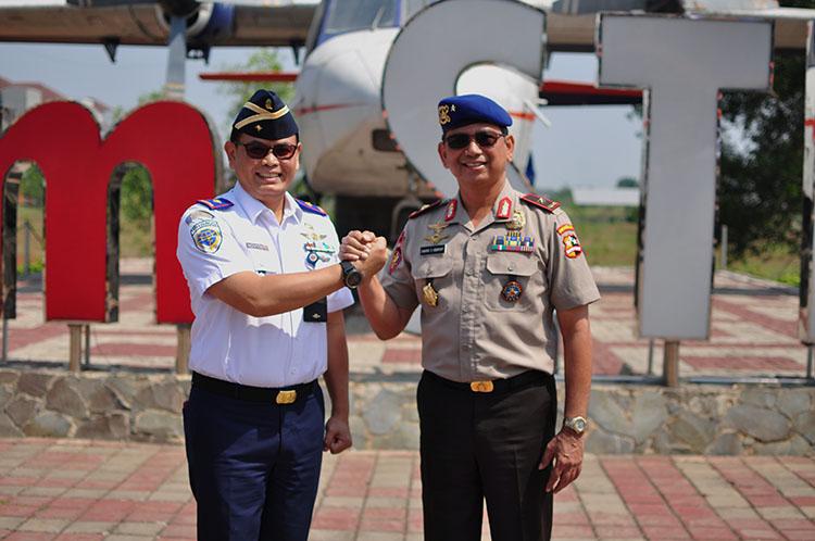 Ketua STPI dan Direktur Polisi Udara