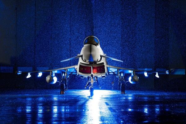 Tuntas, BAE Systems Serahkan Jet Tempur Typhoon ke-160 Pesanan RAF