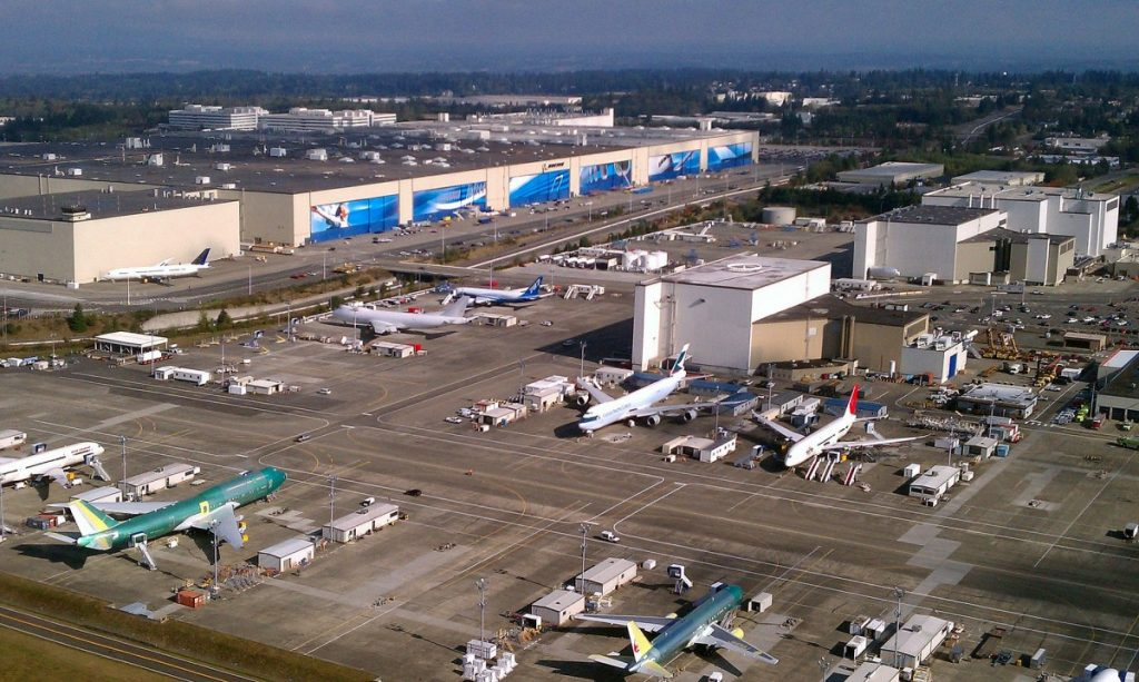 Fasilitas-Boeing-di-Everett-Washington