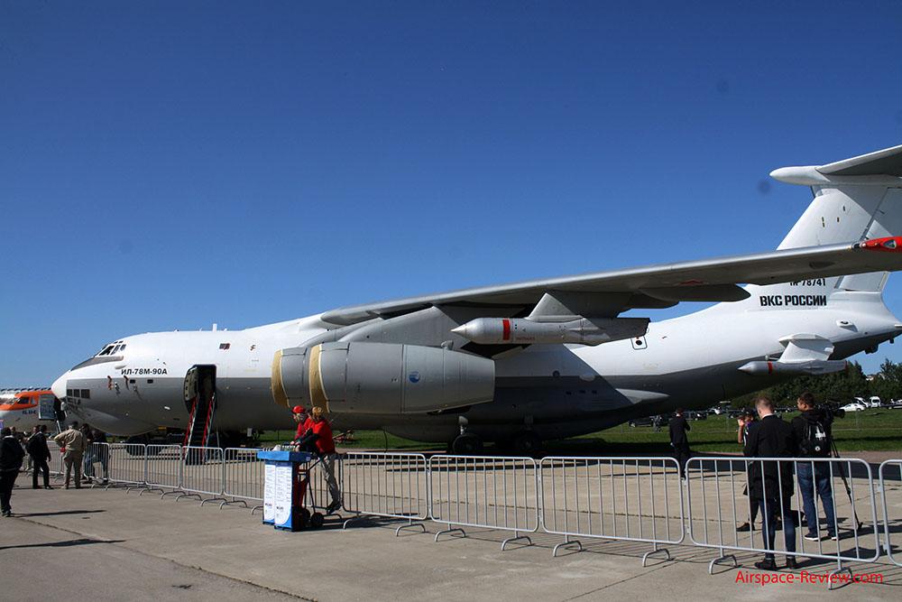 Uji Coba Tanker Il-78M-90A Midas Akan Selesai pada 2021