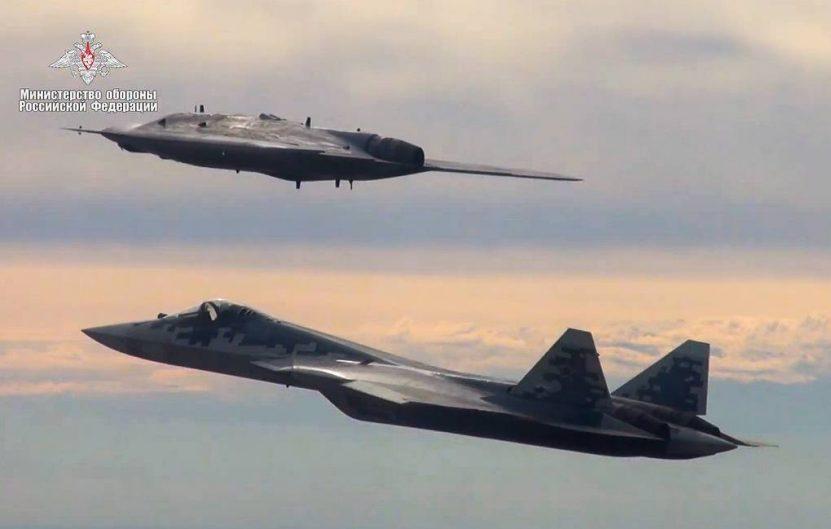 Okhotnik dan Su-57