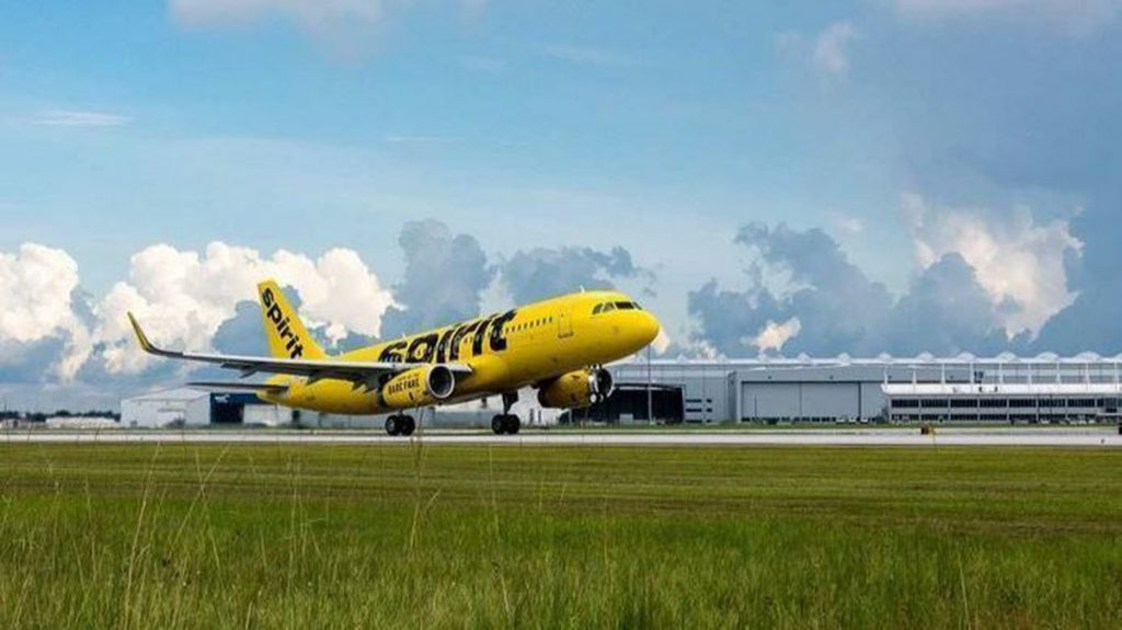 A320 Spirit Airlines