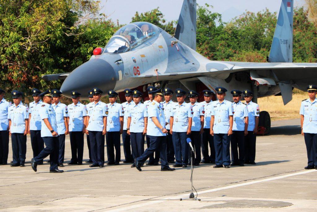 Sertijab Komandan Skadron Udara 14